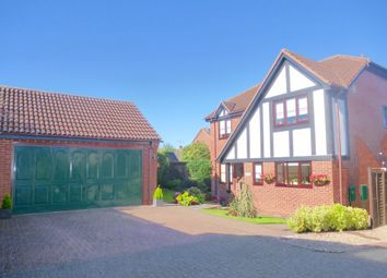 Thumbnail 4 bed detached house for sale in Drovers Way, Southam