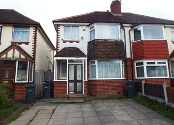 Thumbnail 3 bed semi-detached house to rent in Strathdene Road, Selly Oak, Birmingham
