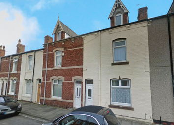 Thumbnail 3 bed terraced house for sale in Wharton Street, Hartlepool, Durham