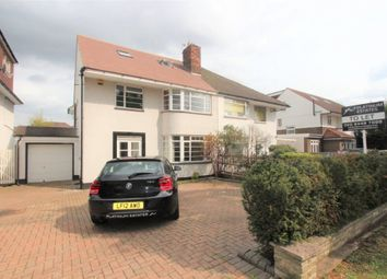 Thumbnail 5 bedroom semi-detached house to rent in Chase Road, London