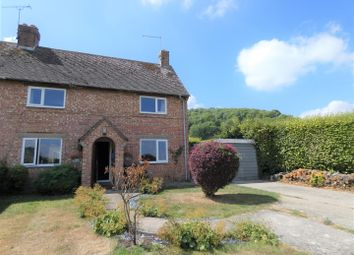 Thumbnail 2 bed semi-detached house to rent in Iwerne Courtney, Blandford Forum