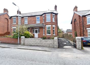Thumbnail 3 bed semi-detached house for sale in Irwin Crescent, Ballyhackamore, Belfast