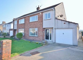 Thumbnail 3 bedroom semi-detached house for sale in Newlands Lane, Workington