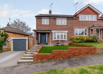 Thumbnail 3 bed semi-detached house for sale in Beacon Close, Wrecclesham, Farnham