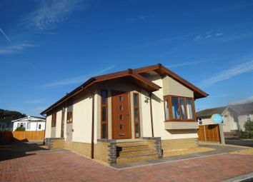 Thumbnail 2 bed detached bungalow for sale in Severn Bridge Park Homes, Beachley, Chepstow