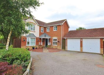 Thumbnail 4 bed detached house for sale in Brierley Close, Snaith, Goole