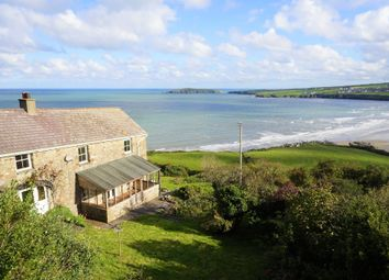 Thumbnail 4 bed farmhouse for sale in Poppit, Cardigan