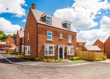 "Thumbnail 4 bed end terrace house for sale in ""Hertford"" at Carters Lane, Kiln Farm, Milton Keynes"