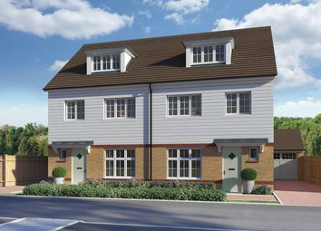 "Thumbnail 4 bed semi-detached house for sale in ""Lincoln"" at Roman Way, Rochester"