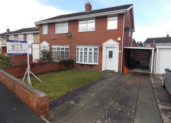 Thumbnail 3 bedroom semi-detached house to rent in Clos Morfudd, Rhyl