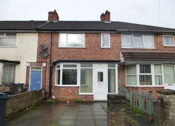 Thumbnail 3 bed terraced house for sale in Kenwood Road, Bordesley Green, Birmingham