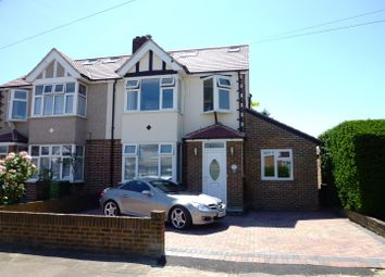 Thumbnail 5 bed semi-detached house for sale in Francis Close, Ewell, Epsom