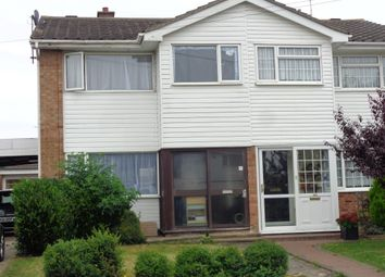 Thumbnail 3 bed semi-detached house to rent in Elm Tree Avenue, Walton On The Naze