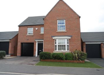 Thumbnail 4 bed detached house for sale in Rosefinch Way, Forest Town, Mansfield