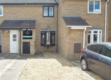 Thumbnail 2 bed terraced house for sale in Elm Close, Yaxley, Peterborough