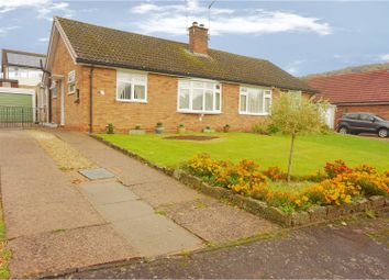 Thumbnail 3 bed semi-detached bungalow for sale in Hillcrest Road, Monmouth