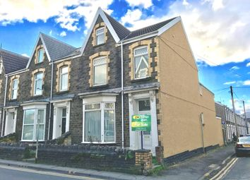 Thumbnail 4 bedroom end terrace house for sale in Victoria Gardens, Neath