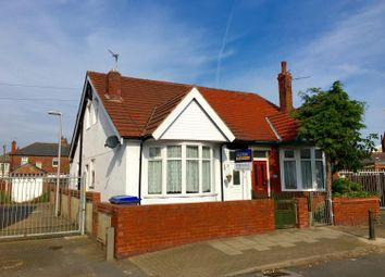 Thumbnail 3 bed semi-detached bungalow for sale in Threlfall Road, South Shore, Blackpool