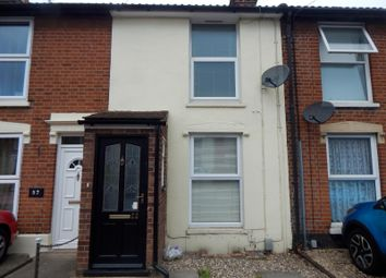 Thumbnail 2 bed terraced house to rent in Alan Road, Ipswich