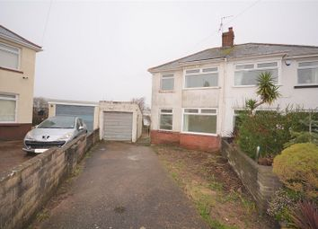 Thumbnail 3 bed semi-detached house for sale in Ty Fry Gardens, Rumney, Cardiff.