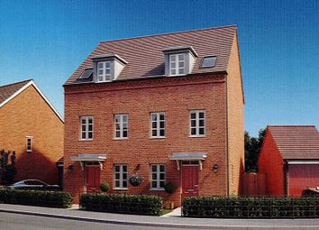 Thumbnail 3 bed town house for sale in Lakeside, Wedgwood Village, Barlaston