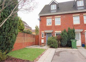 Thumbnail 3 bed end terrace house for sale in Armoury Drive, The Heath