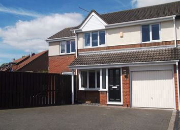 Thumbnail 4 bed semi-detached house for sale in Dormand Drive, Peterlee
