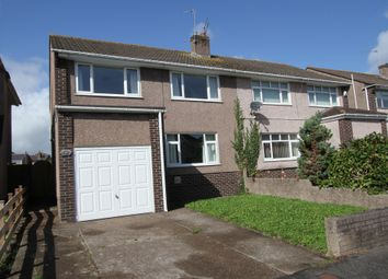 Thumbnail 3 bed semi-detached house for sale in Traston Road, Newport