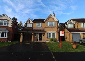 Thumbnail 4 bed detached house for sale in Mayfield Drive, Winsford