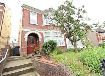 Thumbnail 4 bed semi-detached house for sale in St Julians Avenue, Newport