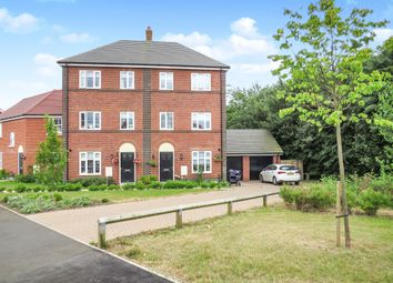 Thumbnail 4 bed town house for sale in Brooke Way, Stowmarket