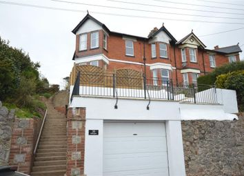 Thumbnail 4 bedroom semi-detached house to rent in Higher Brimley Road, Teignmouth, Devon