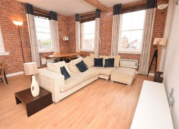 Thumbnail 2 bed flat to rent in King Street, Leicester