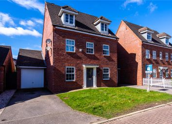 Thumbnail 5 bed detached house for sale in Lockside Close, Glen Parva, Leicester, Leicestershire
