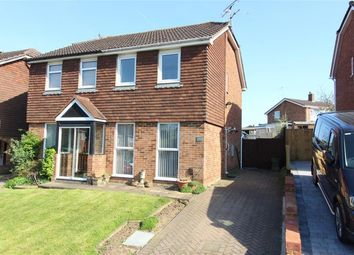 Thumbnail 2 bed semi-detached house for sale in Quantock Drive, Ashford