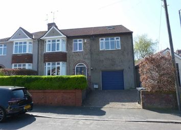 Thumbnail 5 bed semi-detached house for sale in Hazelbury Road, Bristol