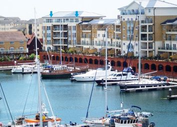 Thumbnail 4 bedroom flat for sale in Hamilton Quay, Sovereign Harbour North, Eastbourne
