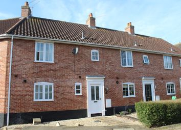 Thumbnail 3 bed terraced house for sale in Coltsfoot Crescent, Bury St. Edmunds