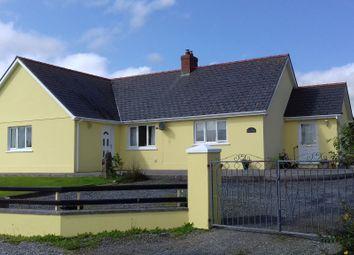 4 bed detached bungalow for sale in Llangolman, Clynderwen SA66