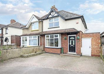 Thumbnail 2 bed semi-detached house for sale in Copse Avenue, Swindon, Wiltshire