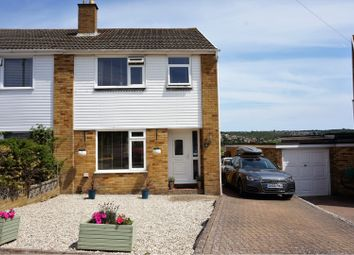 Thumbnail 3 bed semi-detached house for sale in Hawthorne Close, Dover