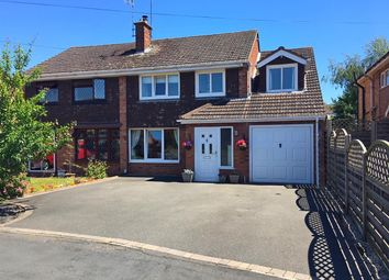 Thumbnail 5 bed semi-detached house for sale in Winsford Crescent, Stafford
