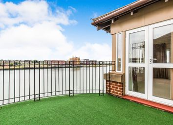 Thumbnail 3 bed flat for sale in Andes Close, Ocean Village Marina, Southampton