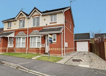 Thumbnail 3 bedroom semi-detached house for sale in Harlequin Drive, Kingswood, Hull