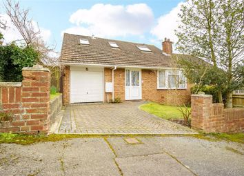 Westminster Crescent, Hastings, East Sussex TN34. 3 bed semi-detached bungalow for sale
