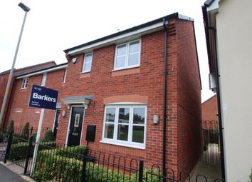 Thumbnail 3 bed detached house for sale in Dragonfly Walk, Leicester