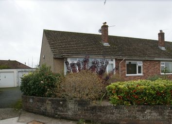 Thumbnail 2 bed semi-detached bungalow for sale in Gard Close, Torquay