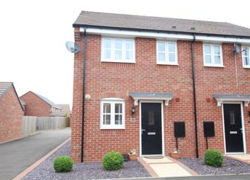 Thumbnail 2 bed semi-detached house for sale in Bonneville Road, Hinckley