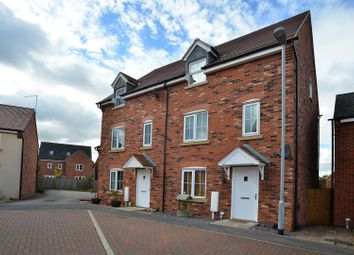 Thumbnail 4 bedroom town house for sale in Linnet Close, Kirkby-In-Ashfield, Nottingham