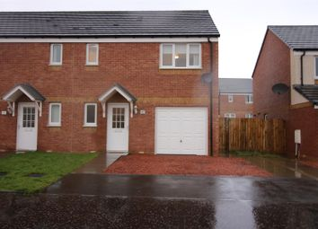 Thumbnail 3 bed semi-detached house for sale in Flax Way, Greenock